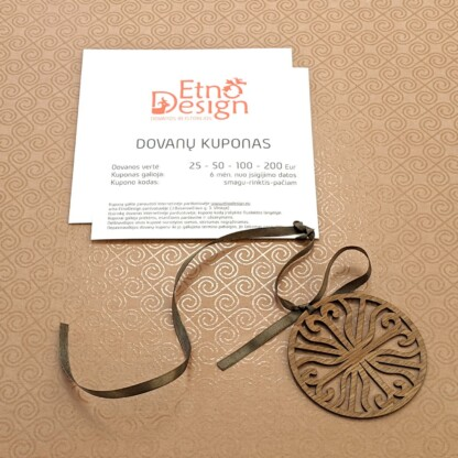 EtnoDesign dovanų kuponas